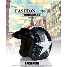Мужская женская половина Мотоциклетный шлем harley старинные шлемы Америка Капитан лаки 13 moto размер шлемы 53-60 см S/L/XL/XXL