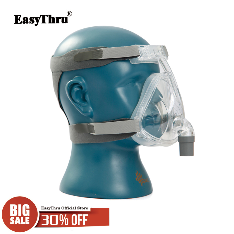 BMC FM2 Full Face Mask CPAP APAP BIPAP Machine Accessories Sleep Apnea Snoring medical Silicone Gel Breathing Mask