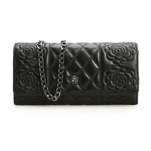2016 berühmte Marke frauen Echte Lederne Beutel Weibliche Schaffell Kette Stepp Crossbody tasche Luxus schulter Messenger Frauen Tasche