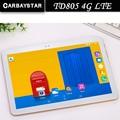 "Carbaystar 10.1 ""laptop TD805 Octa Core 1.5 GHz Ram 4 GB Rom 64 GB Android 6.0 Llamada telefónica Tablet Pc 4G LTE/WCDMA/GPS"