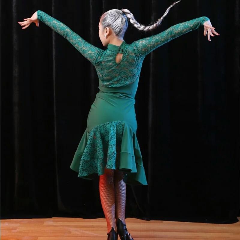 salsa dance dresses latin dance wear bllroom tango dresses rumba dress latin dance top+skirt latin dance costumes for women