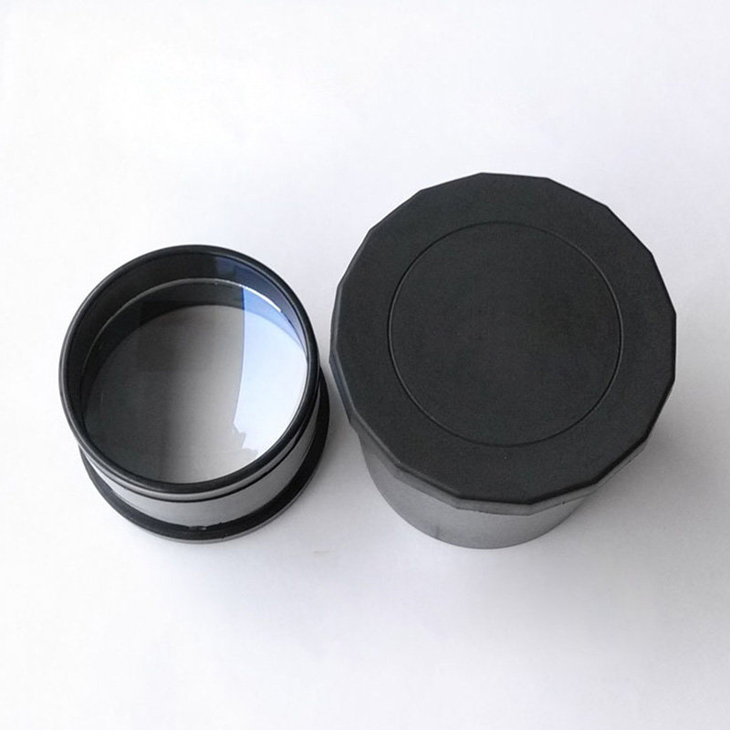 ABS 80F500 Double Separation Blue Film Coated Telescope Objective Lens With Object-mount Lens Hood цены