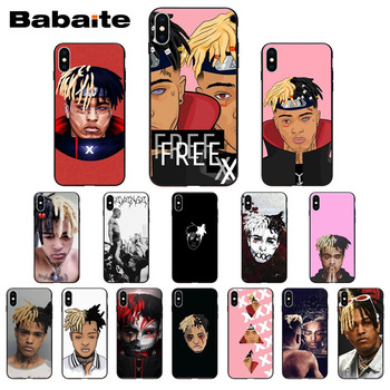 for iphone 11pro max XXXTentacion Missing you TPU Soft Silicone Black Phone Case for iphone X XS MAX 8 7plus 5S SE 6s XR Cover image
