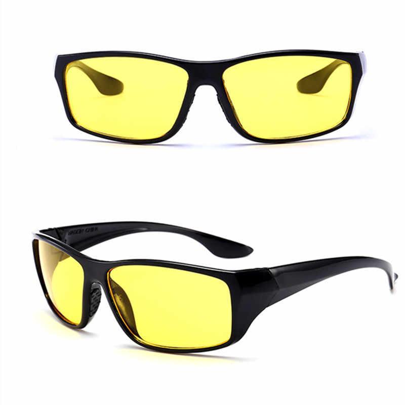 59a3dcd9b3 ... New Sunglasses Night Vision Sunglasses Men Fashion Polarized Night  Driving Enhanced Light Glasses Auto Acessories Drop ...