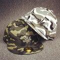 6 pcs frete grátis/2016-A505 Metal cânhamo camuflagem moda skate snapback hop chapéu boné de beisebol das mulheres dos homens