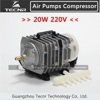 20W aquarium air pumps compressor AC 220 240V 25L/min ACQ 001 for laser engraver parts