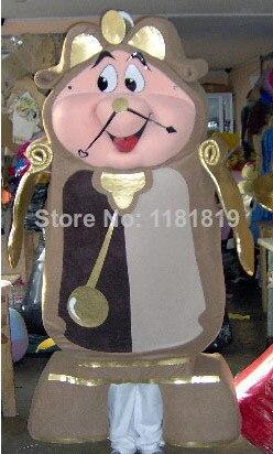 maskot 4ks maskot kostým zlatý budík mr cants svícen maskot s EMS ZDARMA SHIPPING