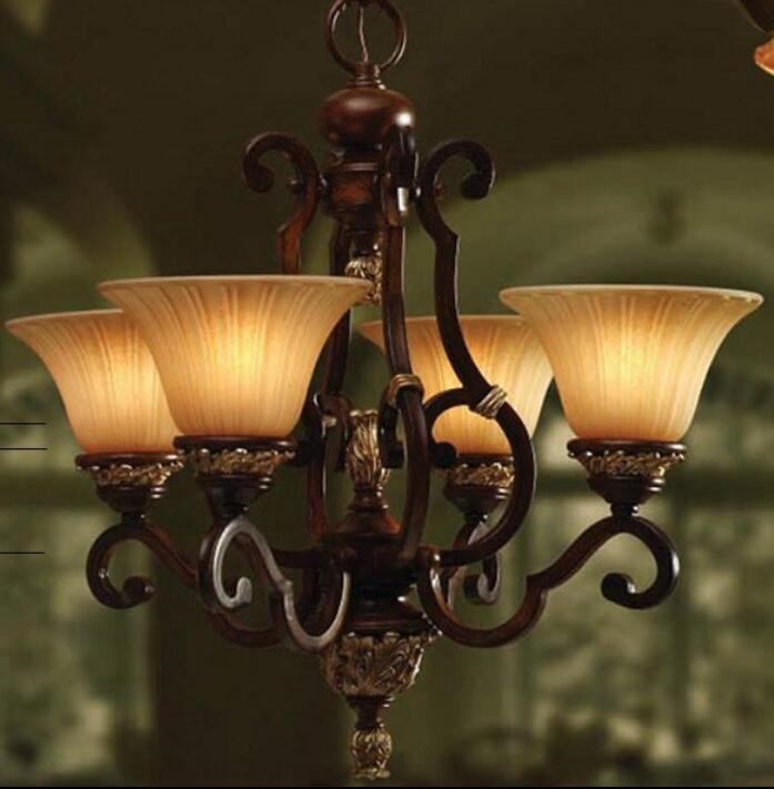 merican antique lamp wrought iron resin pendant lights dinner bedroom a study of European bar cafe decoration Pendant Lights