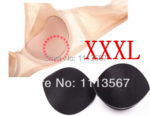 20set  Black Sewing In Bra Cups Soft Foam Size XXXL Clothing Set  Sewing Suppliers Bra Accessories WB10