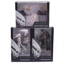NECA Alien Covenant Xenomorph Neomorph Creature Pack PVC Action FIGURE ของเล่นสะสม