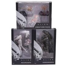 NECA, Alien Covenant Xenomorph, Pack de créatures en PVC, figurine daction, jouet à collectionner
