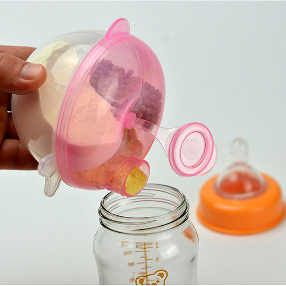 Flaschenzuführung Realistisch Tragbare Baby Infant Milch Pulver Formel Dispenser Container Lagerung Fütterung Box
