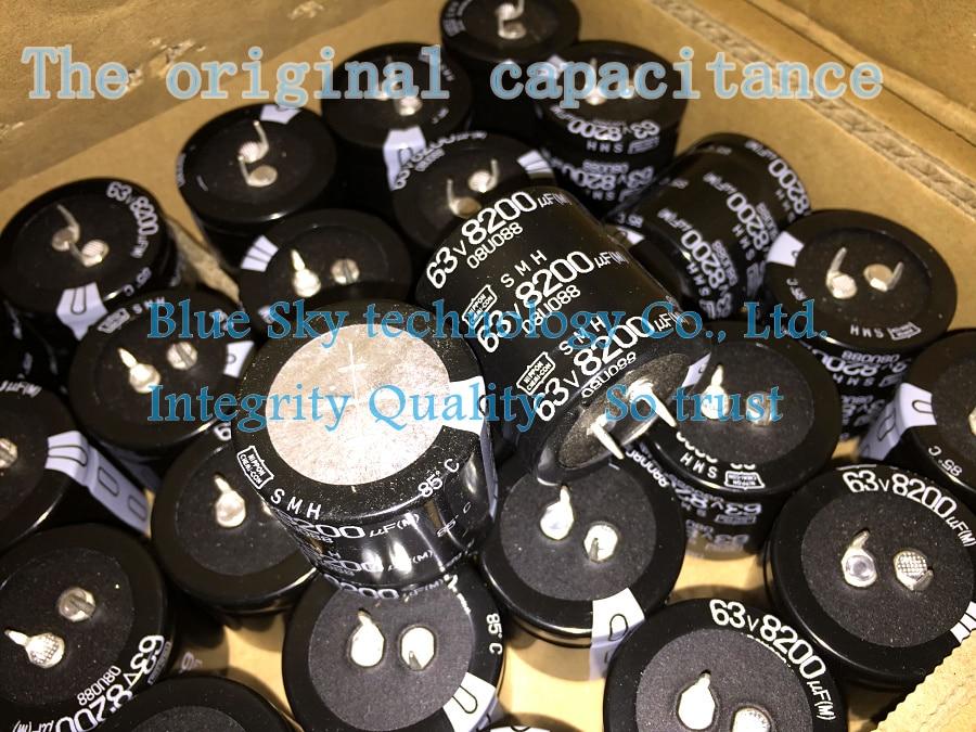 Odroid 2pcs Chemi Con 63v8200uf Smh 35x35mm Nippon