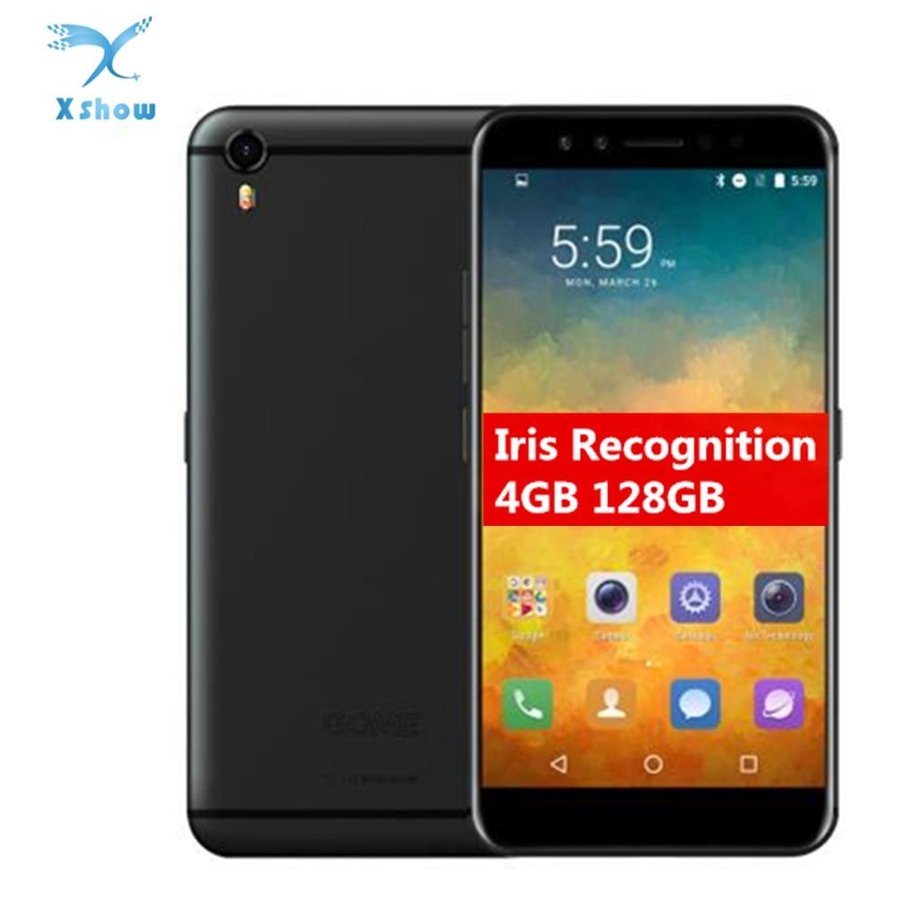 GOME K1 смартфон с 5,2-дюймовым дисплеем, восьмиядерным процессором Helio P20 MTK6757, ОЗУ 4 Гб, ПЗУ 128 ГБ, 2,3 ГГц, 4G LTE