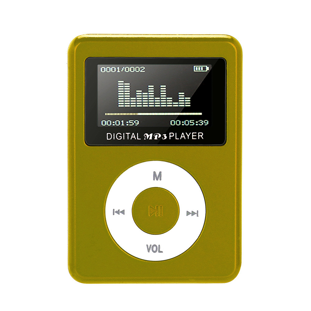 NEW FASHION 2018 USB Mini MP3 Player LCD Screen Support 32GB Micro SD TF Card Fashion Mini Sport MP3 Player JANN26 D15