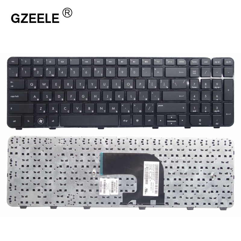 GZEELE Russian Laptop Keyboard For HP Pavilion DV6-7000 DV6-7100 7200 7001TX 7002TX 7002 7029 7031 7035 7100 DV6-7200 RU Layout