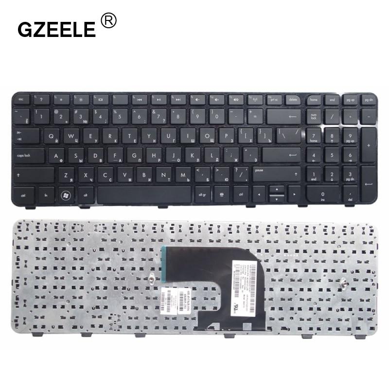 GZEELE Russian Laptop Keyboard For HP Pavilion DV6-7000 DV6-7100 7200 7001TX 7002TX 7002 7029 7031 7035 7100 DV6-7200 RU Layout
