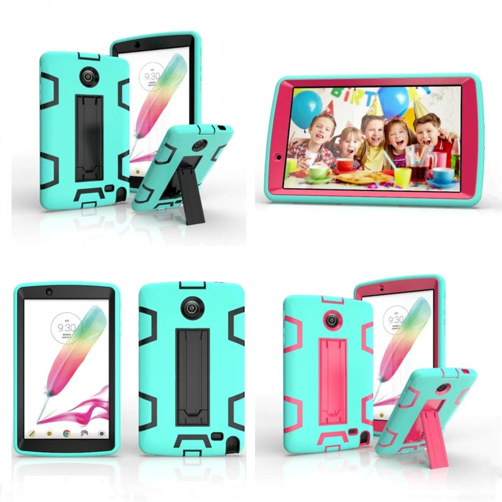 Cool Case For LG G Pad F 8.0 V495/V496/V498 Tablet 3 in 1 Heavy Duty Rugged Full Body Stand Case Cover For LG G Pad 2 V495