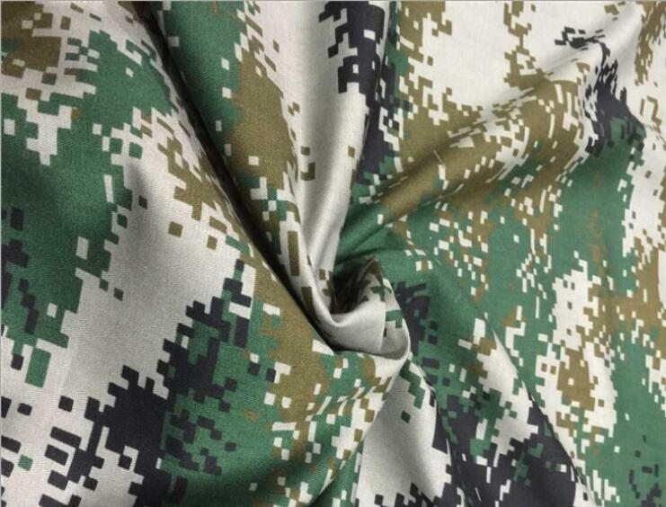 Military Training in Field Desert Forest Camouflage Fabric Cloth DIY Handmade Clothes