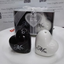 100pcs(50pairs)/lot Bridal Shower Party Return Gifts heart M
