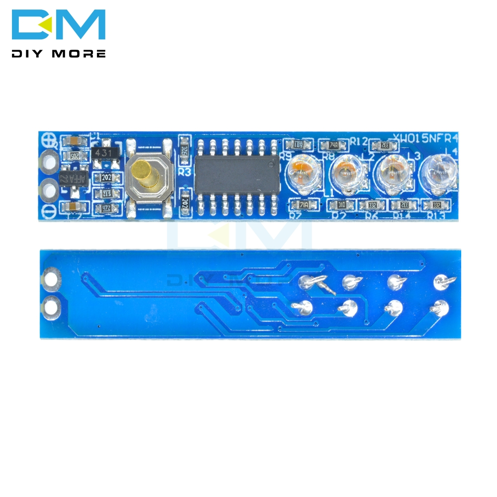 4S 1S 2S 3S 4S Lithium Battery Capacity Indicator LED Indicator Display Board Module Power Level for 18650 Lithium Battery DIY Kit
