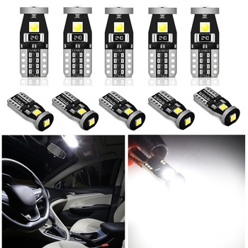Canbus T10 LED W5W Car LED Bulbs 168 Auto Clearance Lights Interior Lamp For Toyota C-HR Corolla Rav4 Yaris Avensis Camry 2018 image