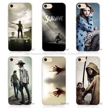 The Walking Dead Hard Transparent Case for Apple iPhone