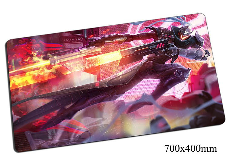 Lucian mouse pad 700x400x2mm gaming mousepad gear lol gamer mouse mat pad the Purifier game computer new mouse play mats