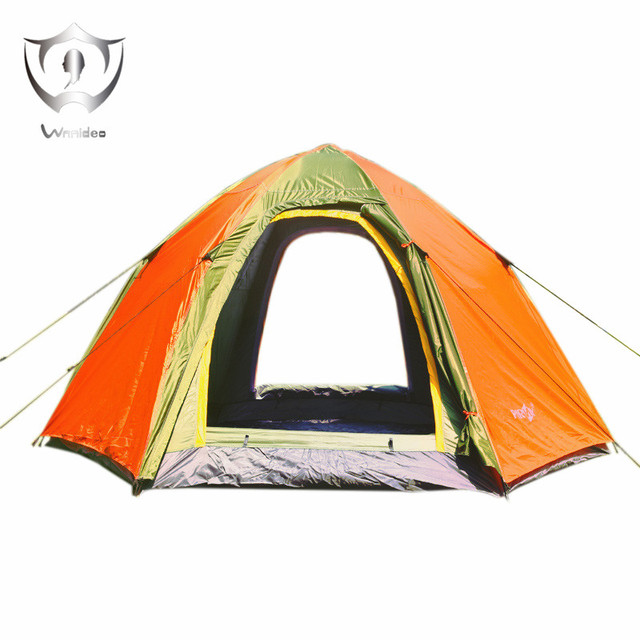 Wnnideo Instant Dome Family Tent 6 Person Pop Up Waterproof with Fly in Gray  sc 1 st  AliExpress.com & Wnnideo Instant Dome Family Tent 6 Person Pop Up Waterproof with ...