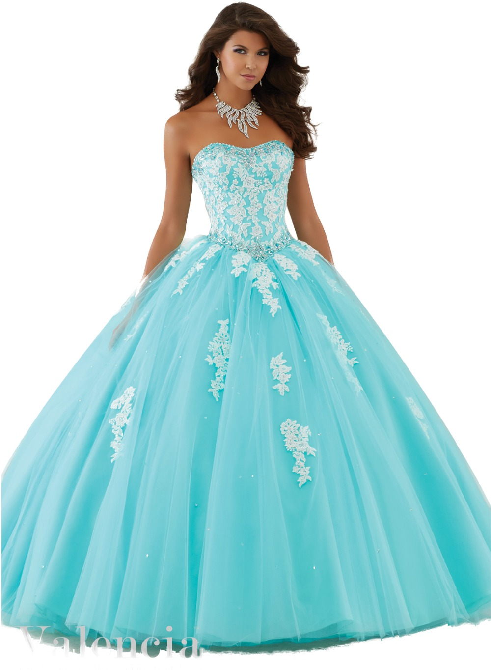 Blue And White Quinceanera Dresses | Dress Wallpaper