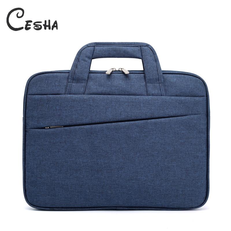 CESHA Men Durbale 15inch Laptop Bag High Quality Durable Canvas Documents Fashion Portable Business Mens Canvas Briefcases