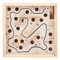 Puzzle Wooden Toy Labyrinth Board Kids Solitaire Game Children Education Learning Intelligence Game Classic Maze Balance Board