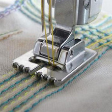 PIN TUCK SEWING FOOT SNAP ON, COMPATIBLE FOR BROTHER, JANOME, TOYOTA, NEW SINGER DOMESTIC SEWING MACHINES  AA7015