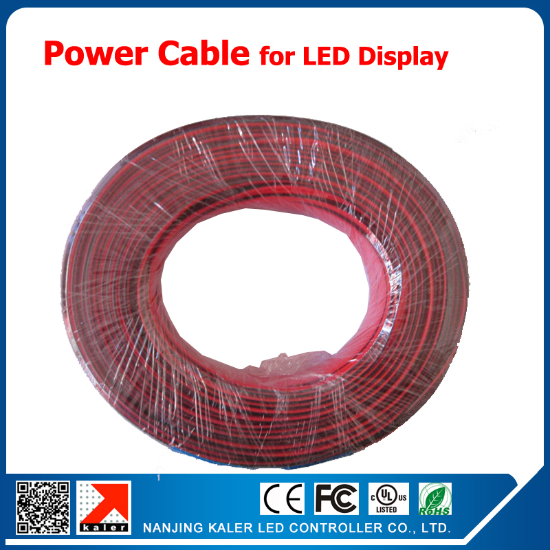 Led Display Power Cable For Indoor Semi Outdoor Outdoor Led Screen
