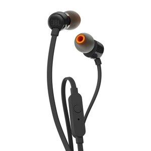 Image 2 - JBL T110 3.5mm 유선 이어폰 스테레오 음악 딥베이스 이어 버드 헤드셋 스포츠 이어폰 인라인 컨트롤 핸즈프리 마이크 포함