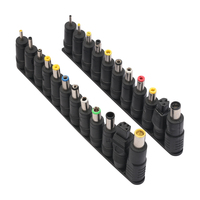 1Set 5 5 X 2 1mm Female Jack To 23 Multi Type Power Plug Connector