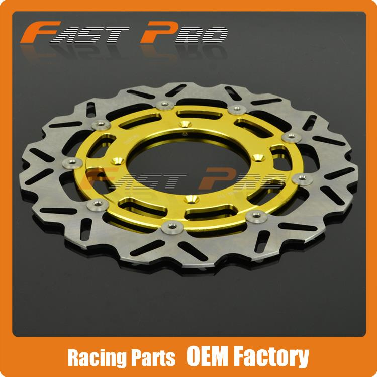 320MM Front Wavy Floating Brake Disc Rotor For RMZ RMX RMZ250 07-15 RMZ450 05-15 RMX450 10-12  Supermoto Motard keoghs motorcycle brake disc brake rotor floating 260mm 82mm diameter cnc for yamaha scooter bws cygnus front disc replace