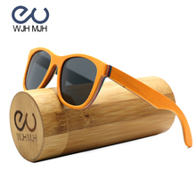 ФОТО gold frame skateboard wood sunglasses glasses polarized aviator sun shades for men uv400 protection with wooden and bamboo case