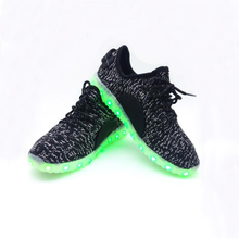 New Fashion LED Light up Shoes for Adults Colorful Luminous Shoes with USB Rechargeable Women Men Shoes with LED Lights