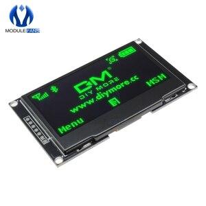 """Image 5 - Pantalla LCD Digital de 2,42 """"y 2,42 pulgadas Módulo de pantalla OLED C51, 12864x64, placa para Arduino, verde, amarillo, blanco y azul, SSD1309 STM32"""