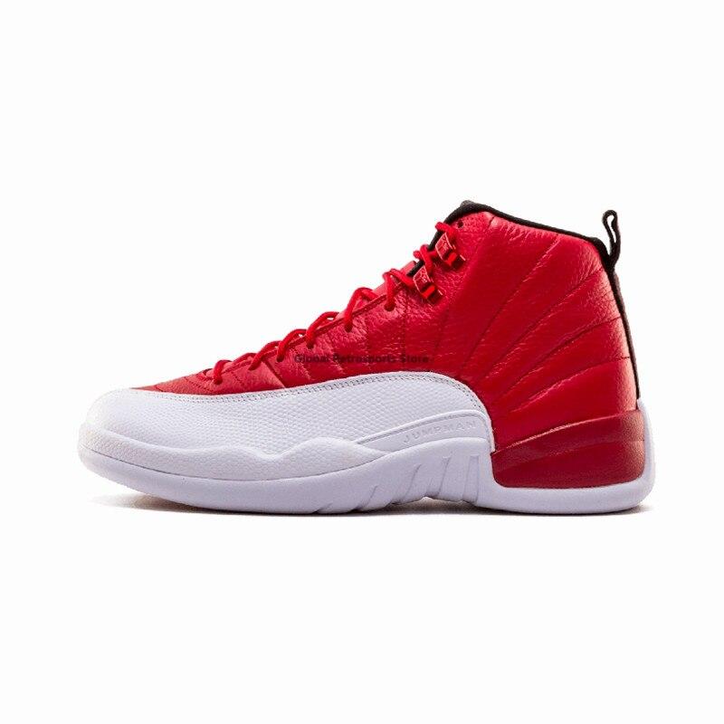 ad20a4e39a5 Jordan 12 XII Men Basketball Shoes wool the master University Blue gym red GS  Barons Flu