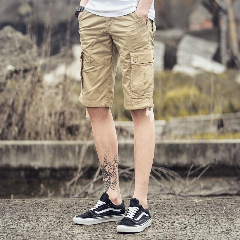 Aliexpress.com : Buy Cargo Shorts 2015 Summer Casual Mens Slim ...