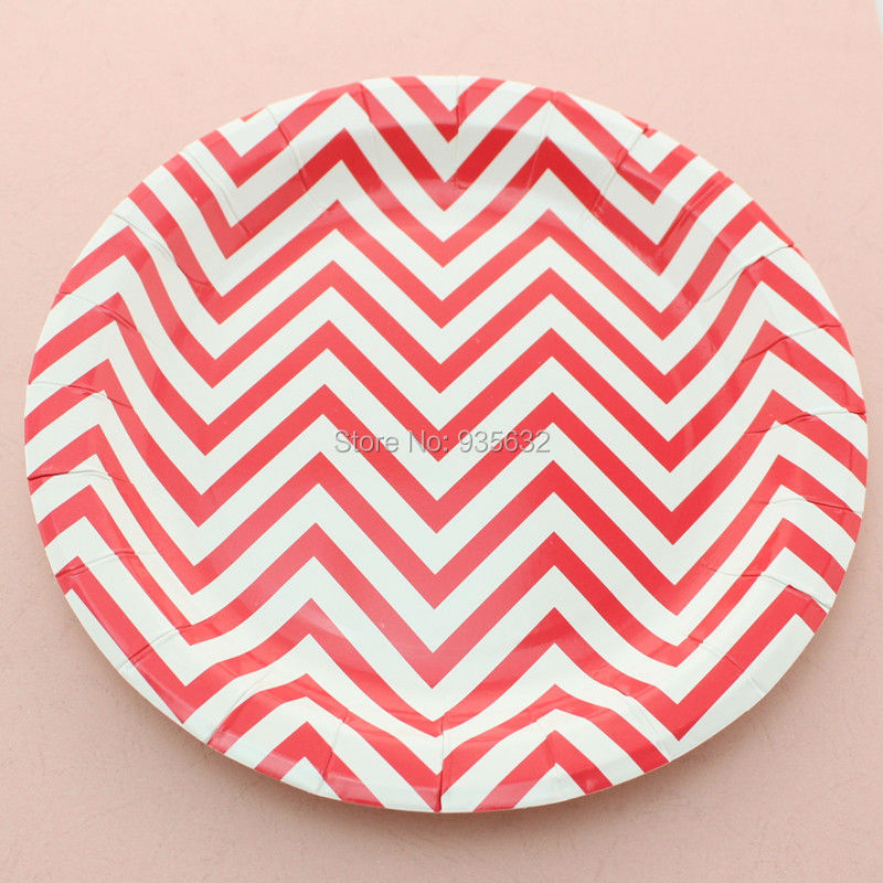 Party Decoration S&le Striped Polka Dot Chevron Paper Plates for Valentine Birthday Wedding Nursery Party Christmas Supplies-in Disposable Party Tableware ...  sc 1 st  AliExpress.com & Party Decoration Sample Striped Polka Dot Chevron Paper Plates for ...