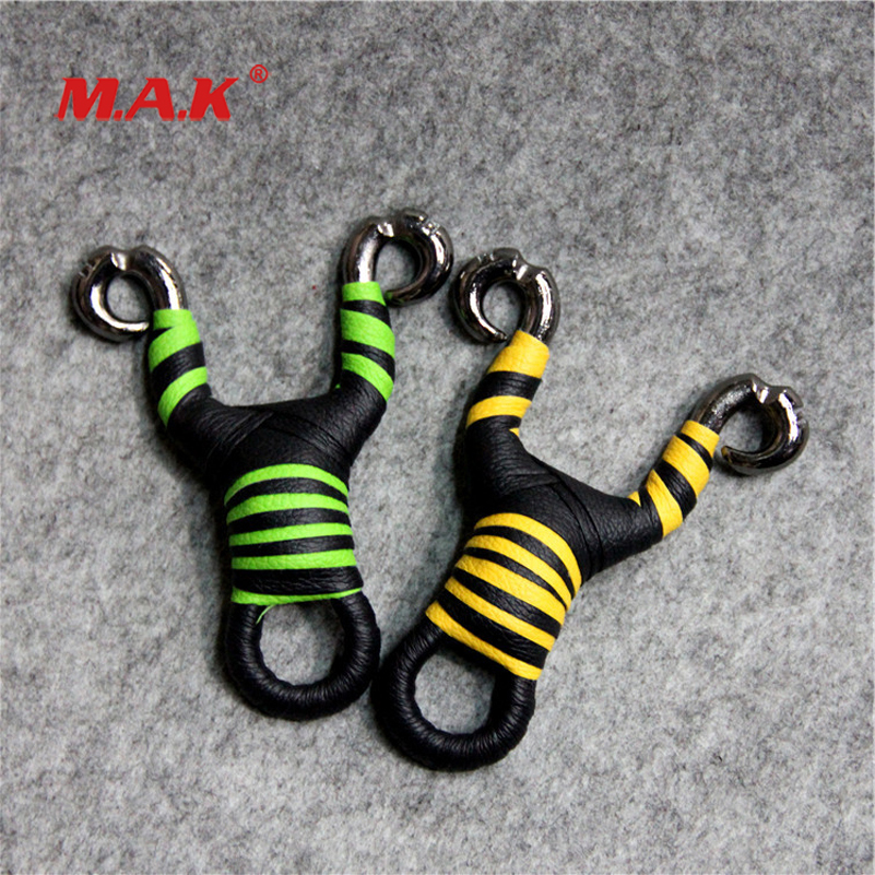 Sling Shot Traditional Slingshot In Alloy Titanium Stainless Steel With Flat Rubber Band Fit Outdoor Shoting Hunting Activity