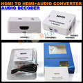 1080 P HD MINI HDMI к HDMI + AUDIO Video Converter Decoder Adapter Удалить HDCP Согласования КЛЮЧЕЙ Audio Сепаратор с USB Кабель