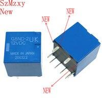 1PCS Auto Relay G8ND 2UK 12VDC G8ND 2UK 12VDC 12V DIP8 G8ND