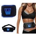 O mais baixo Preço! 1 conjunto AB Gymnic Eletrônico Corpo Frente Cintura Muscular Do Braço perna Massagem Abdominal Exercício Toning Belt de Fitness Fino