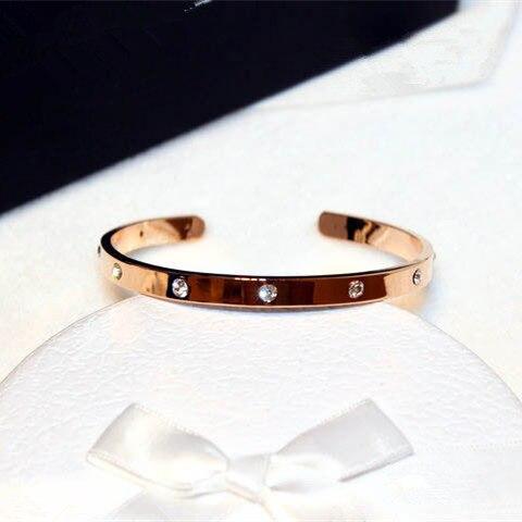 S103 Famous Luxury Brand Designer Jewellery Open Brazaletes Pulseras