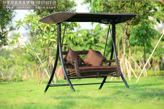 Exceptionnel Foreign Trade Of The Original Single Or Double Swing Outdoor Garden Swing  Seat Outdoor Retro Rattan