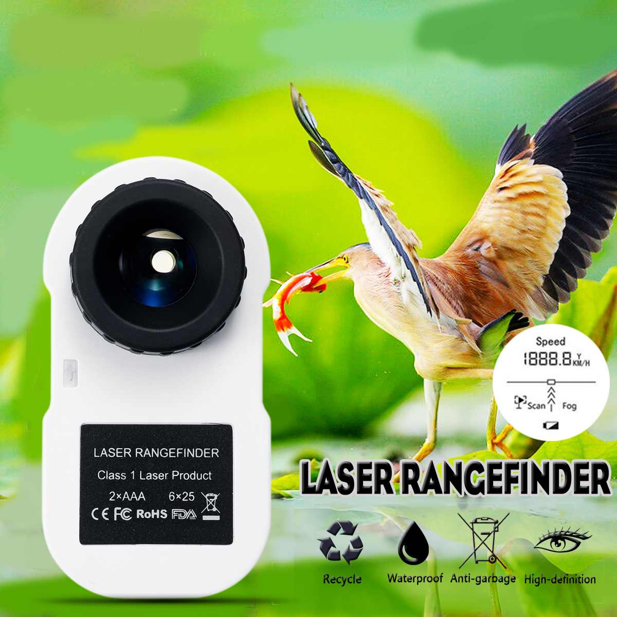 ZEAST télescope 5-600 M Golf Laser télémètre télémètre chasse Golf Laser télémètre mètre